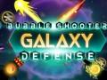 ऑनलाइन गेम्स Bubble Shooter Galaxy Defense