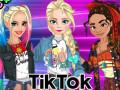 ऑनलाइन गेम्स Tik Tok Princess